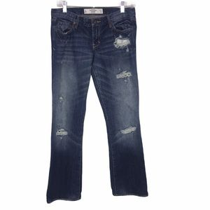 Abercrombie & Fitch Distressed Low Rise Jeans 27